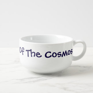"""""""Math Is The Music Of The Cosmos"""" - Soup Mug 1"""