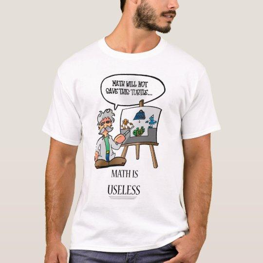 Math Is Useless T-Shirt