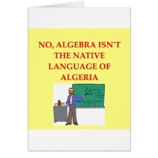 math joke card