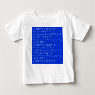 Math limits - Blue model Baby T-Shirt