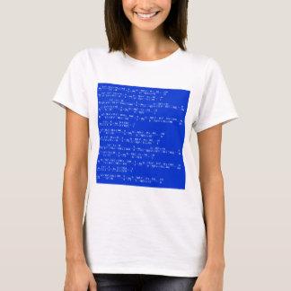 Math limits - Blue model T-Shirt