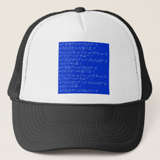 Math limits - Blue model Trucker Hat