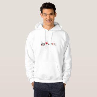 Math love hoodie