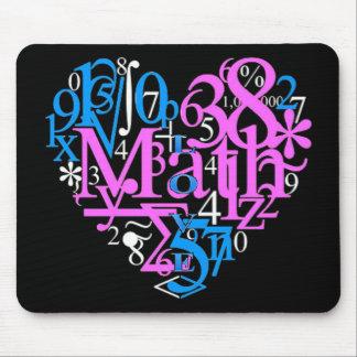 Math Love Mouse Pad