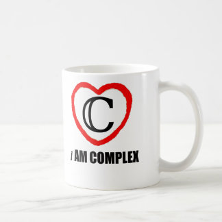 Math Mug for Teachers - Complex - i Am Complex