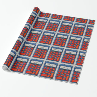 Math Nerd Teacher Calculator School Gift Wrap