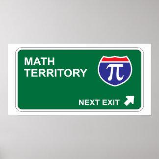 Math Next Exit Poster