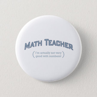 Math / Numbers 2 Inch Round Button