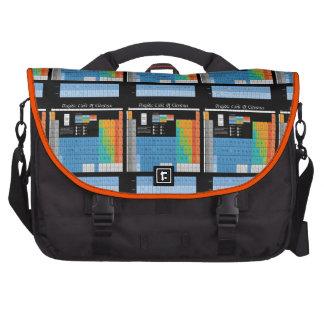 Math Periodic Table Laptop Messenger Bag