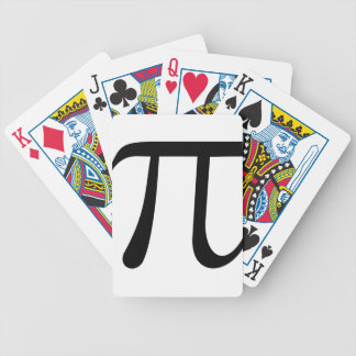 Math Pi Symbol Bicycle Playing Cards