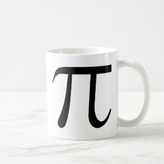 Math Pi Symbol Coffee Mug