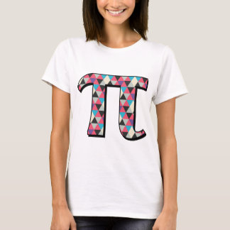 Math Pi With Cool Diamond Pattern T-Shirt