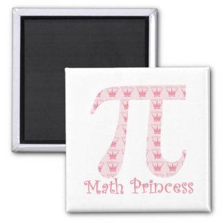 Math Princess Pi Magnet