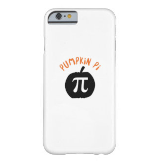 Math Pun Pumpkin Pi Funny Halloweens Barely There iPhone 6 Case