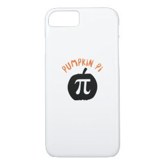 Math Pun Pumpkin Pi Funny Halloweens iPhone 8/7 Case