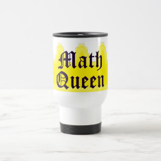 Math Queen Travel Mug