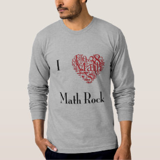 Math Rock Long T-Shirt