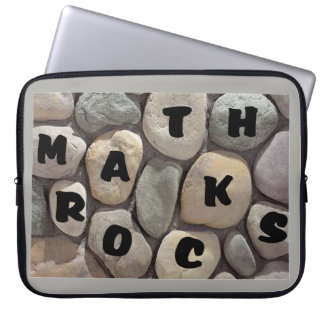 Math Rocks, a Math Teacher's laptop case