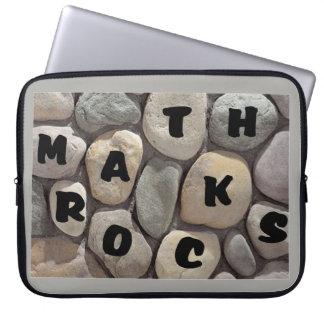 Math Rocks, a Math Teacher's laptop case Laptop Sleeve