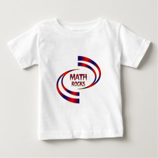Math Rocks Baby T-Shirt