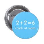 Math Rocks Pinback Button
