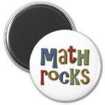 Math Rocks Refrigerator Magnets