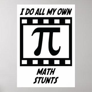 Math Stunts Poster