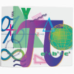 math symbols notebook 3 ring binders