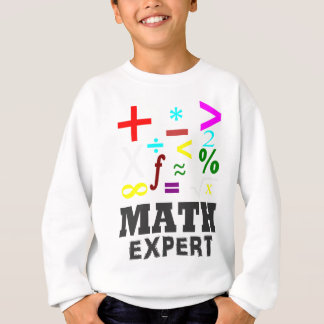 Math Symbols Sweatshirt