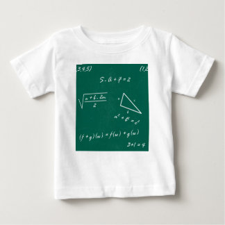 math teacher algebra geek baby T-Shirt