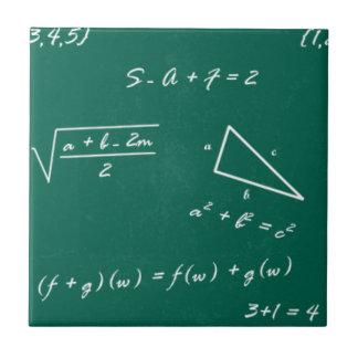 math teacher algebra geek ceramic tile