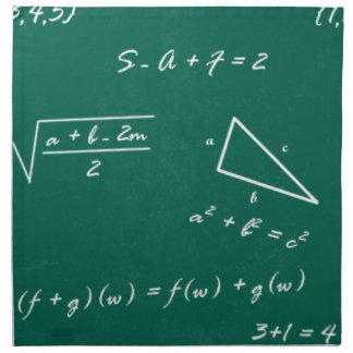 math teacher algebra geek napkin