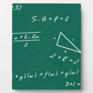 math teacher algebra geek plaque
