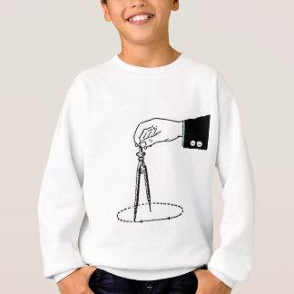 Math Teacher Compass Sweatshirt