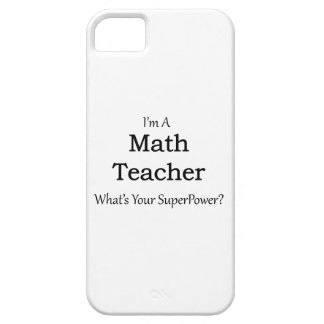 Math Teacher iPhone 5 Cover
