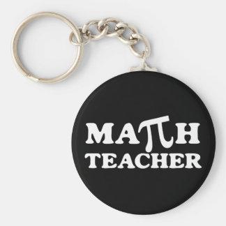 Math Teacher PI Keychain