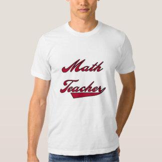 Math Teacher Red Tees