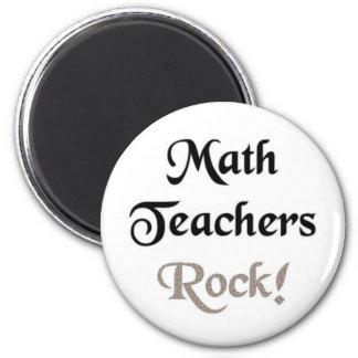 Math Teachers Rock Magnet