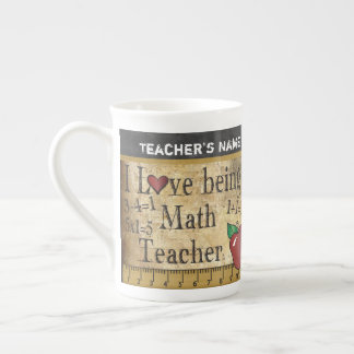 Math Teacher's Vintage Unique Style Tea Cup