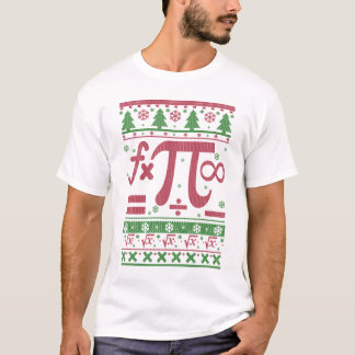 Math Ugly Christmas T-Shirt