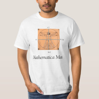 Mathematica Man T-Shirt