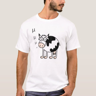 Mathematical Cow Goes Mu T-Shirt