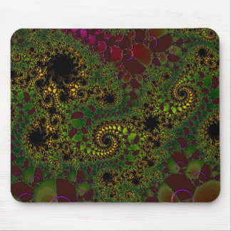 """""""Mathematical Fantasy  - Number Two"""" Mouse Pad"""