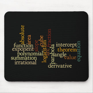 Mathematical Terms Mousepad
