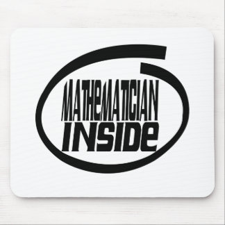Mathematician Inside Mouse Pad