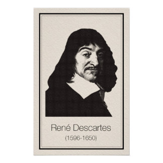 Mathematicians - Descartes Poster