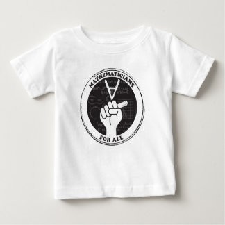 Mathematicians for All T-shirt - Baby