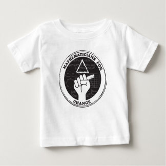 Mathematicians for Change T-shirt - Baby