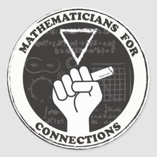 Mathematicians for Connections Stickers
