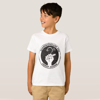 Mathematicians for Group Action T-shirt